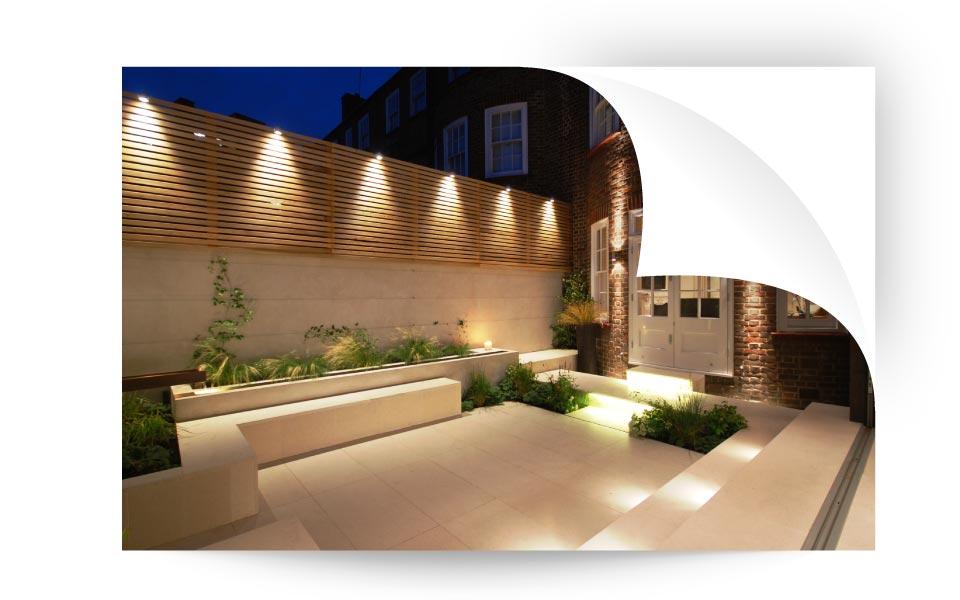 Lighting Controls - نورپردازی لنداسکیپ