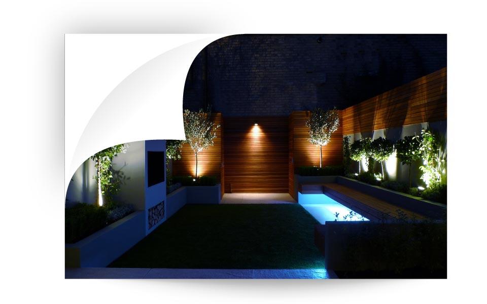 Lighting Layout - نورپردازی لنداسکیپ