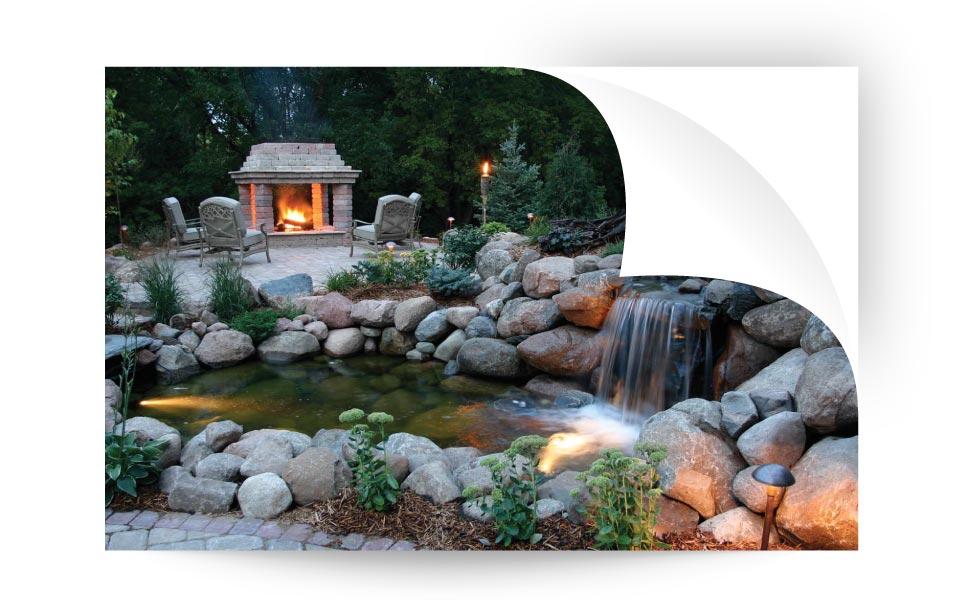 Pond Lights - نورپردازی لنداسکیپ