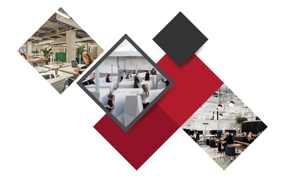 The Flexible Workspace - ۷ مفهوم نوین طراحی دکوراسیون داخلی محل کار برای جذب بهترین نیروی کار