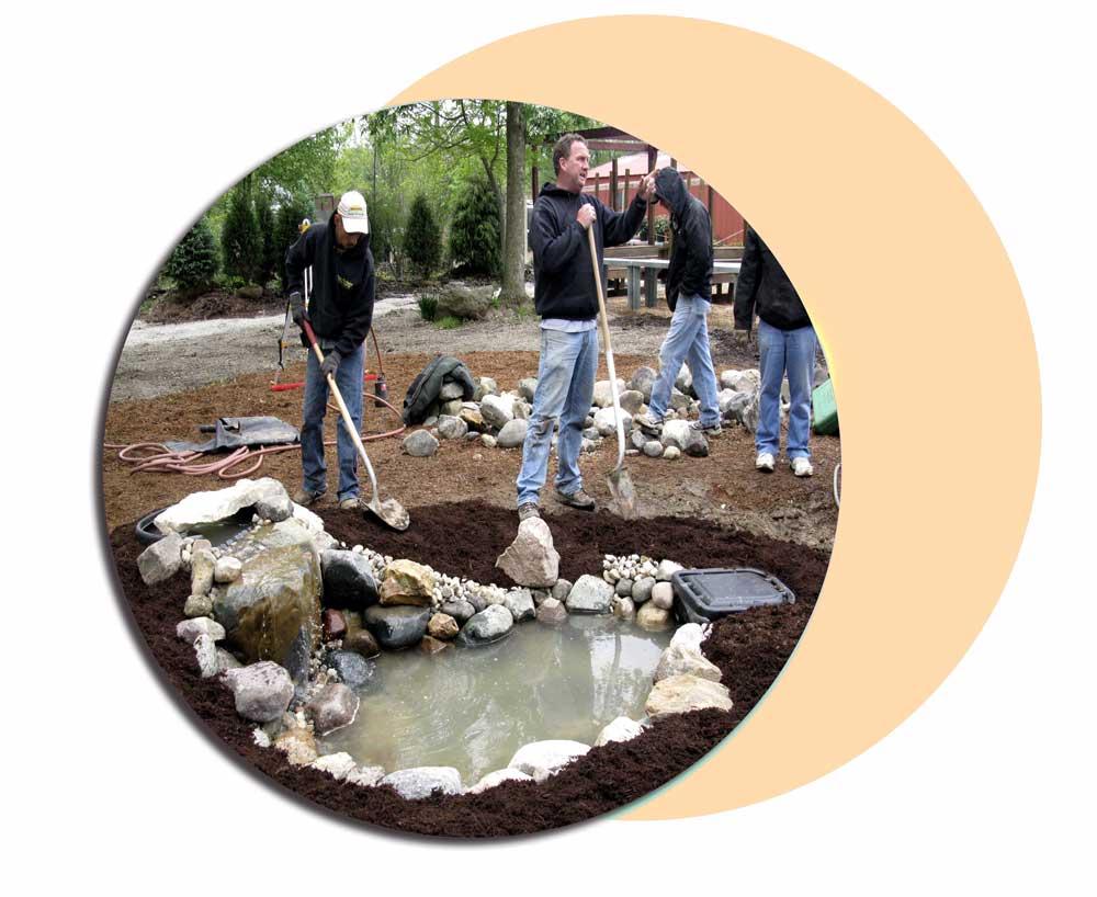 abshar 0fg - ساخت آبشار تزیینی ، آبنمای تزیینی