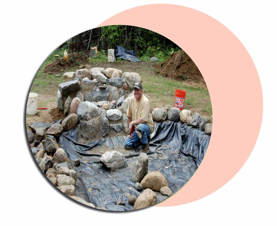 abshar sl5 - ساخت آبشار تزیینی ، آبنمای تزیینی
