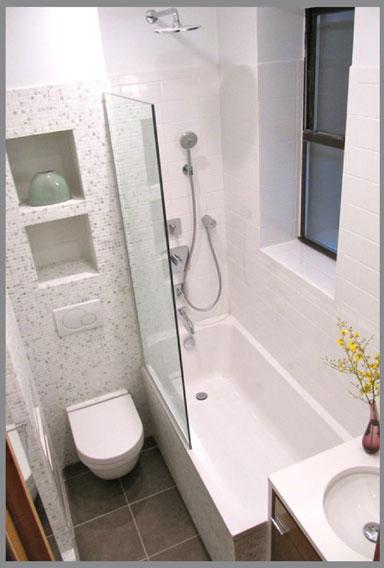 best bathroom 2 - نکات طراحی برای بهتر کردن یک سرویس بهداشتی کوچک