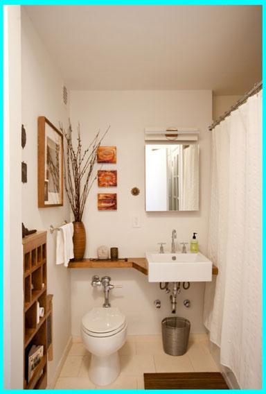 best bathroom 3 - نکات طراحی برای بهتر کردن یک سرویس بهداشتی کوچک