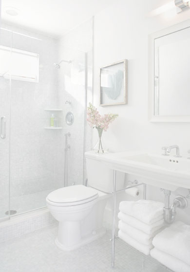 best bathroom 5 - نکات طراحی برای بهتر کردن یک سرویس بهداشتی کوچک