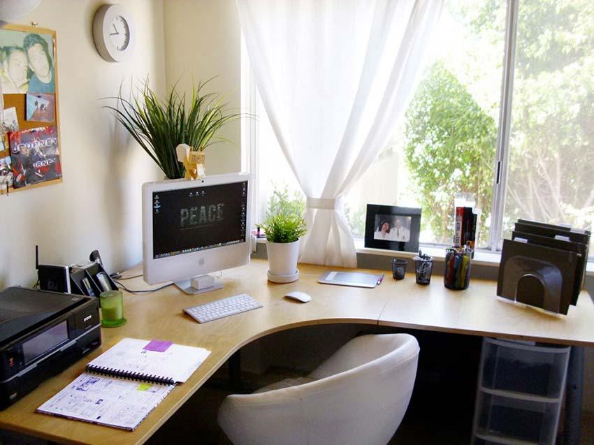 desk pant - ایده هایی برای چیدمان میز کار
