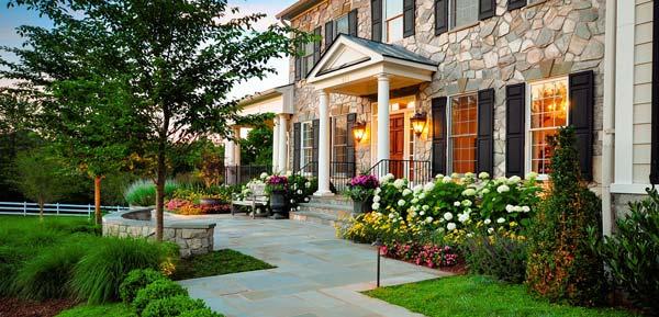 front yard flower - مبانی زیبایی شناسی طراحی منظر