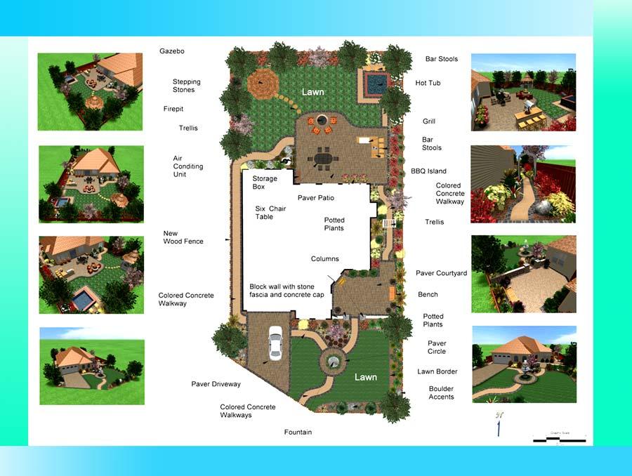 land scape ZD - ۱۰ نکته مهم در طراحی landscape
