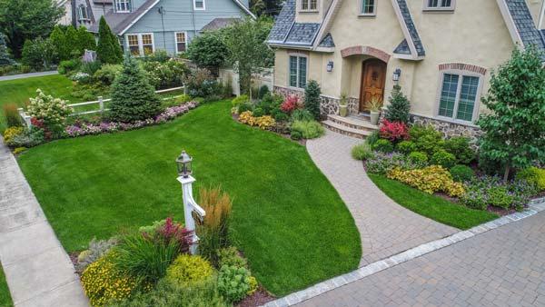 landscape design front yard - مبانی زیبایی شناسی طراحی منظر