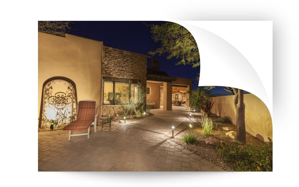 landscape lighting 31 - نورپردازی لنداسکیپ