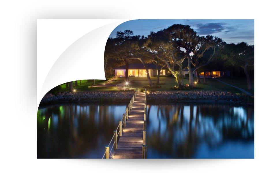 landscape lighting 34 - نورپردازی لنداسکیپ