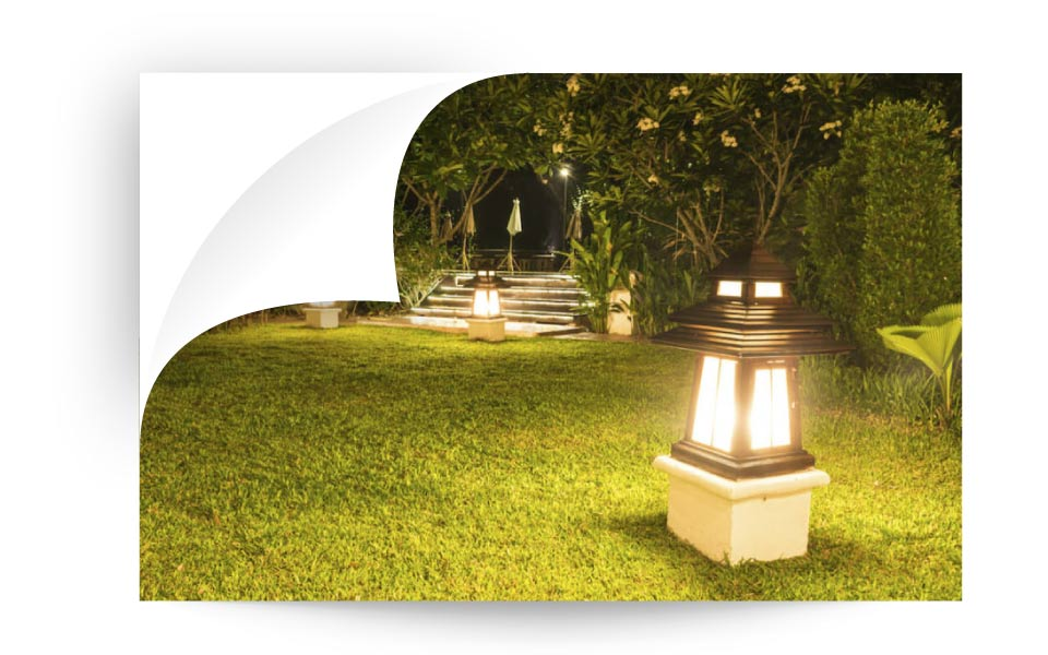 landscape lighting 45 - نورپردازی لنداسکیپ