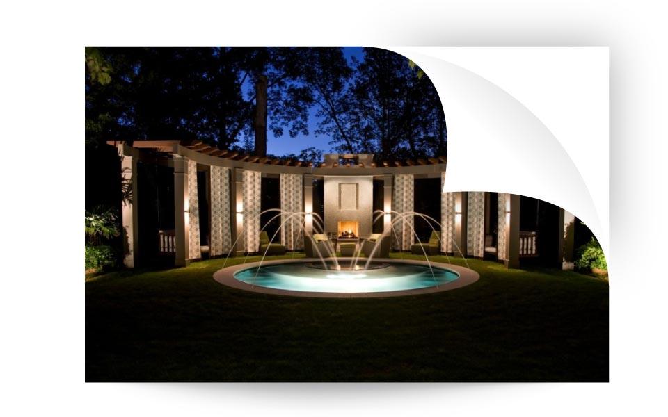 landscape lighting 5 - نورپردازی لنداسکیپ