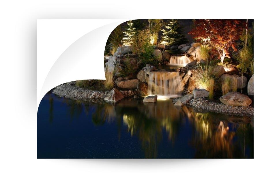 landscape lighting 50 - نورپردازی لنداسکیپ