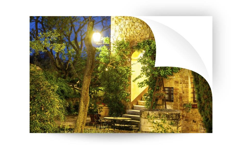 landscape lighting 9 - نورپردازی لنداسکیپ