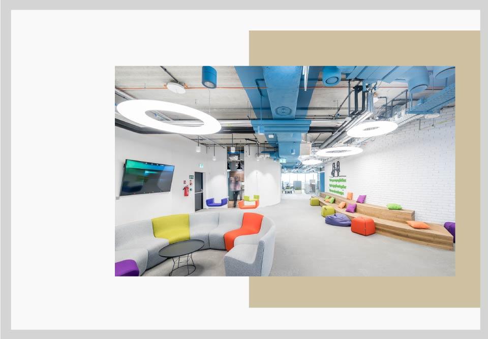 lighting office decor - نکاتی برای طراحی فضای کار و افزایش بهره وری شما