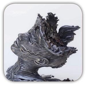 مجسمه سازی با فلز 7
