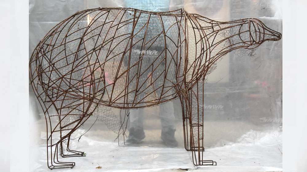 mojasamesazi ba felez 002 1 - مجسمه سازی با فلز