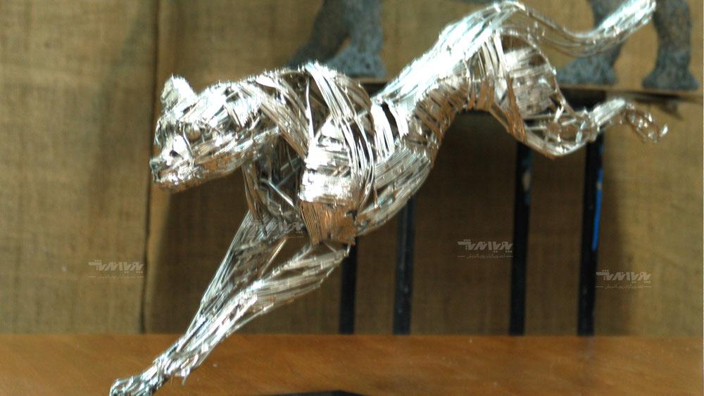 mojasamesazi ba felez 002 7 - مجسمه سازی با فلز