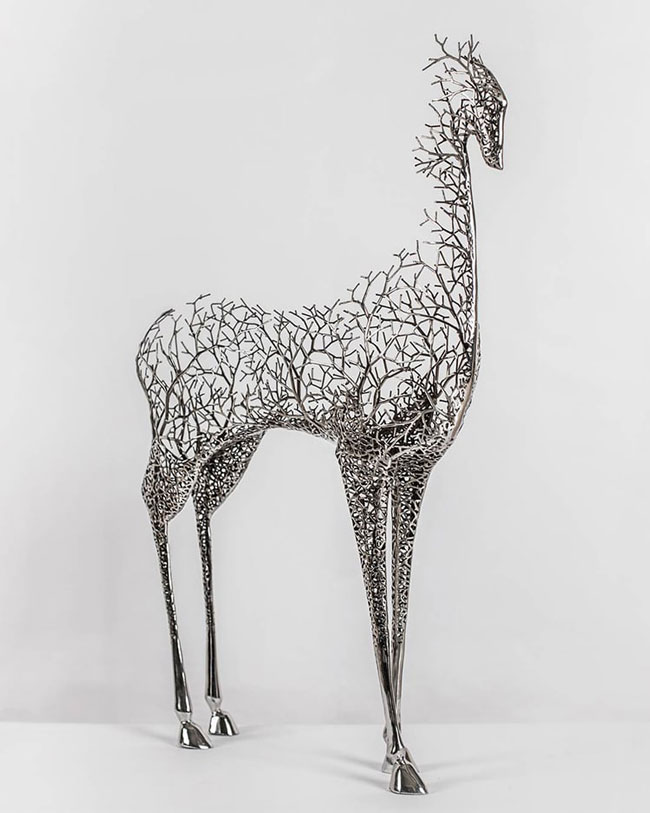 mojasamesazi ba felez 007 - مجسمه سازی با فلز
