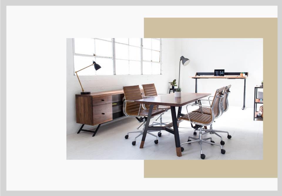 office furniture - نکاتی برای طراحی فضای کار و افزایش بهره وری شما