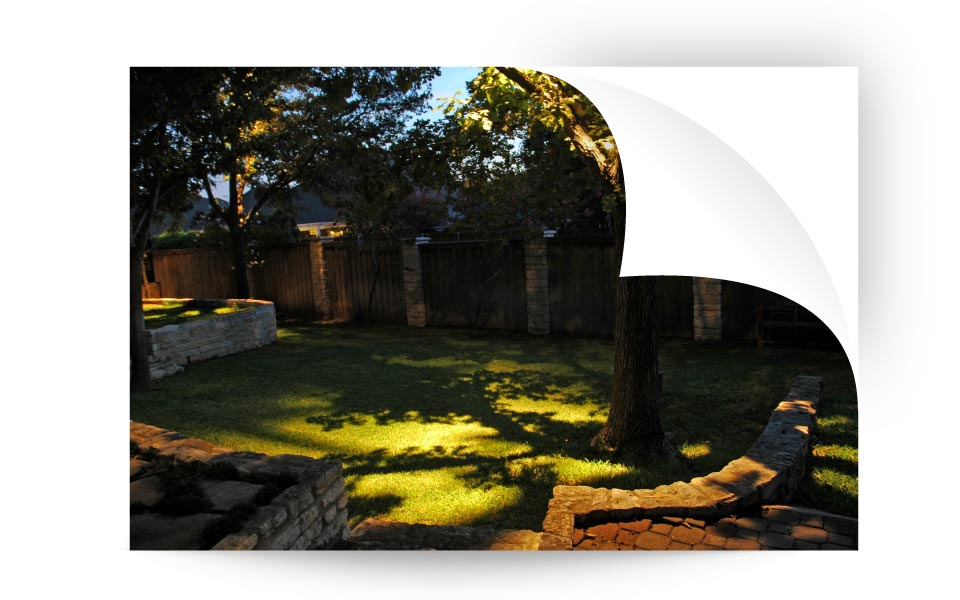 shadowing - نورپردازی لنداسکیپ