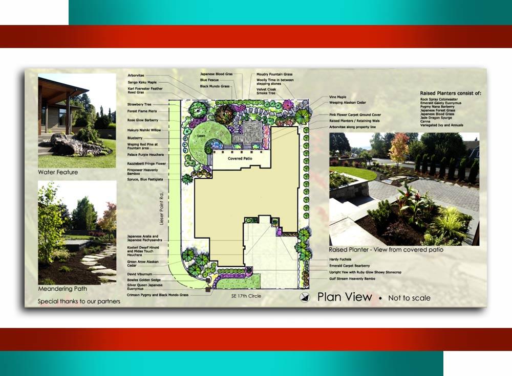 tarahi manzare b6r - مراحل طراحی منظر