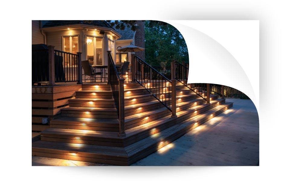 yard lighting - نورپردازی لنداسکیپ