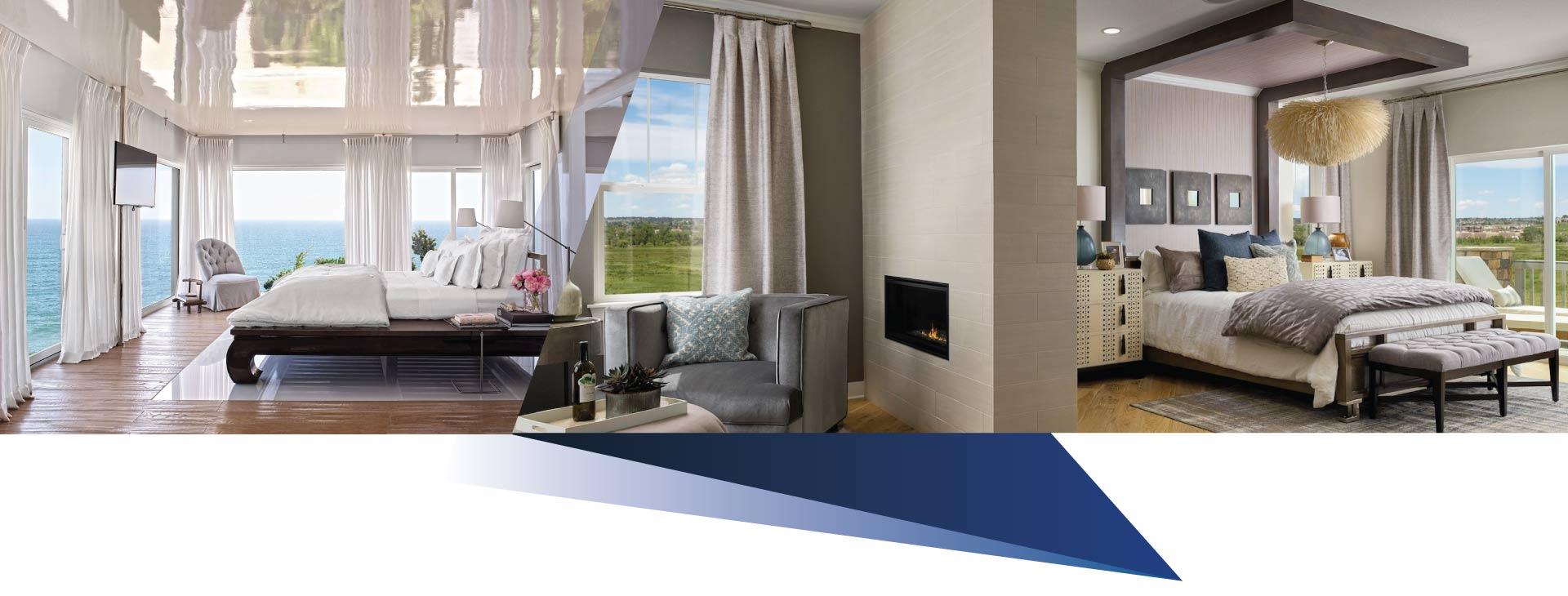 Color in interior design - طراحی اتاق خواب مستر