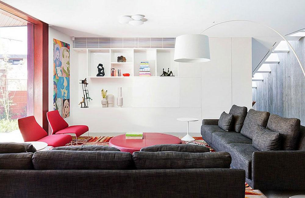 decorasion rang ghermez12 - رنگ قرمز در دکوراسیون داخلی
