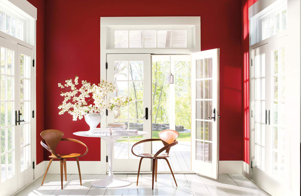 decorasion rang ghermez15 - رنگ قرمز در دکوراسیون داخلی
