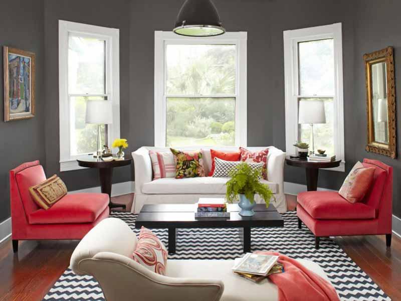 decorasion rang ghermez7 - رنگ قرمز در دکوراسیون داخلی