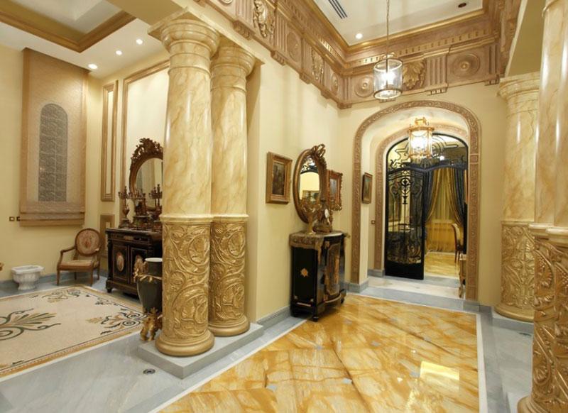 decorasion rang gold14 - رنگ طلایی در دکوراسیون داخلی