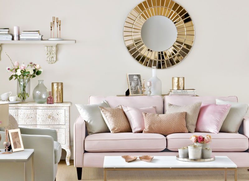 decorasion rang gold3 - رنگ طلایی در دکوراسیون داخلی