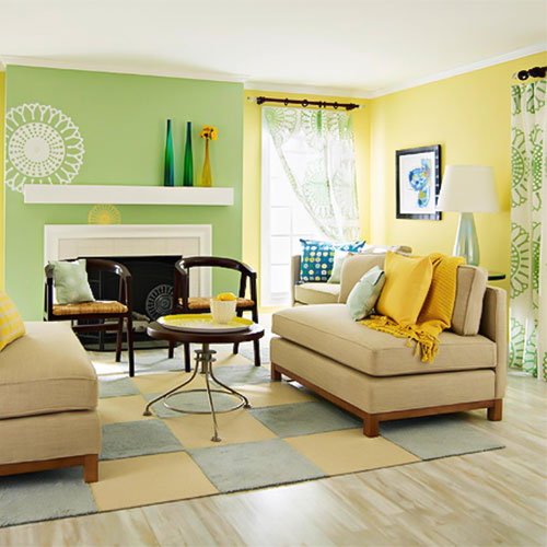 decorasion rang zard11 - رنگ زرد در دکوراسیون داخلی