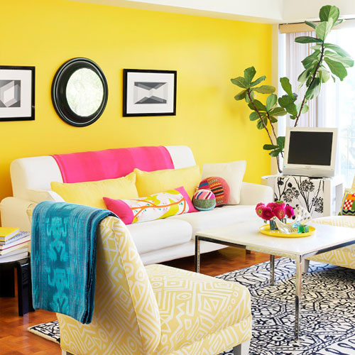decorasion rang zard18 - رنگ زرد در دکوراسیون داخلی