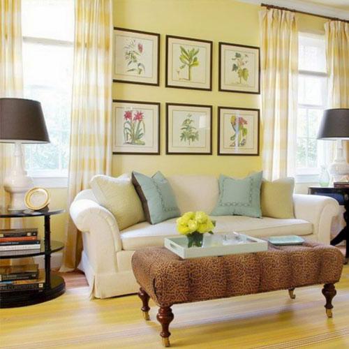 decorasion rang zard21 - رنگ زرد در دکوراسیون داخلی