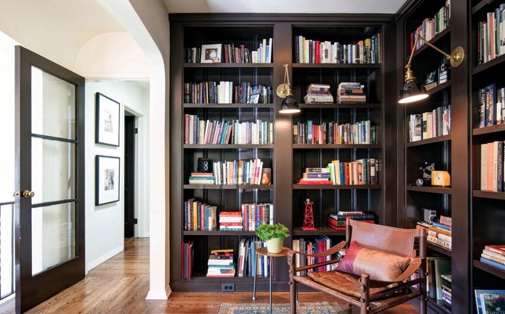 decorasion tarahi ketabkhane3 - طراحی کتابخانه خانگی