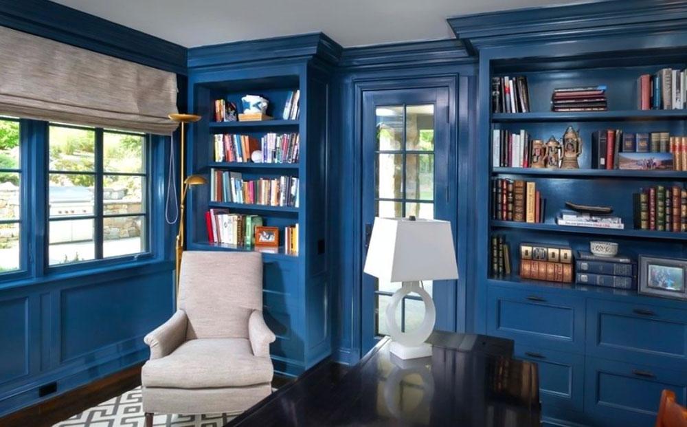 decorasion tarahi ketabkhane5 - طراحی کتابخانه خانگی