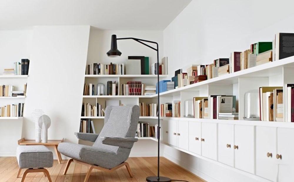 decorasion tarahi ketabkhane7 - طراحی کتابخانه خانگی