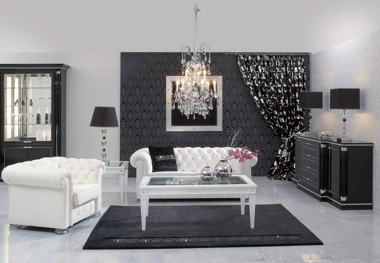 how to use black in interior design ideas creative - رنگ مشکی در دکوراسیون داخلی