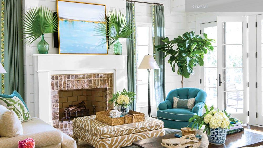 COASTAL livingroom - ۲۷ سبک طراحی داخلی در سال ۲۰۱۹