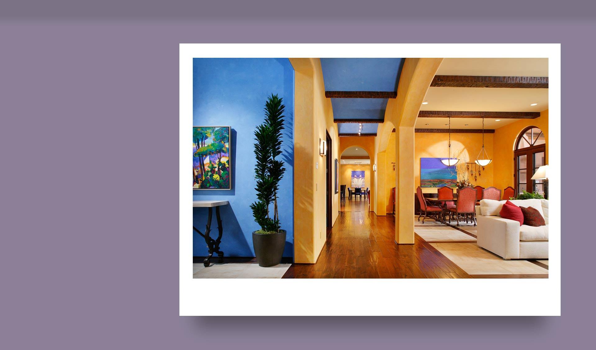 Create contrast using color - اهمیت کنتراست در طراحی داخلی ( و نحوه ی استفاده ی صحیح از آن)