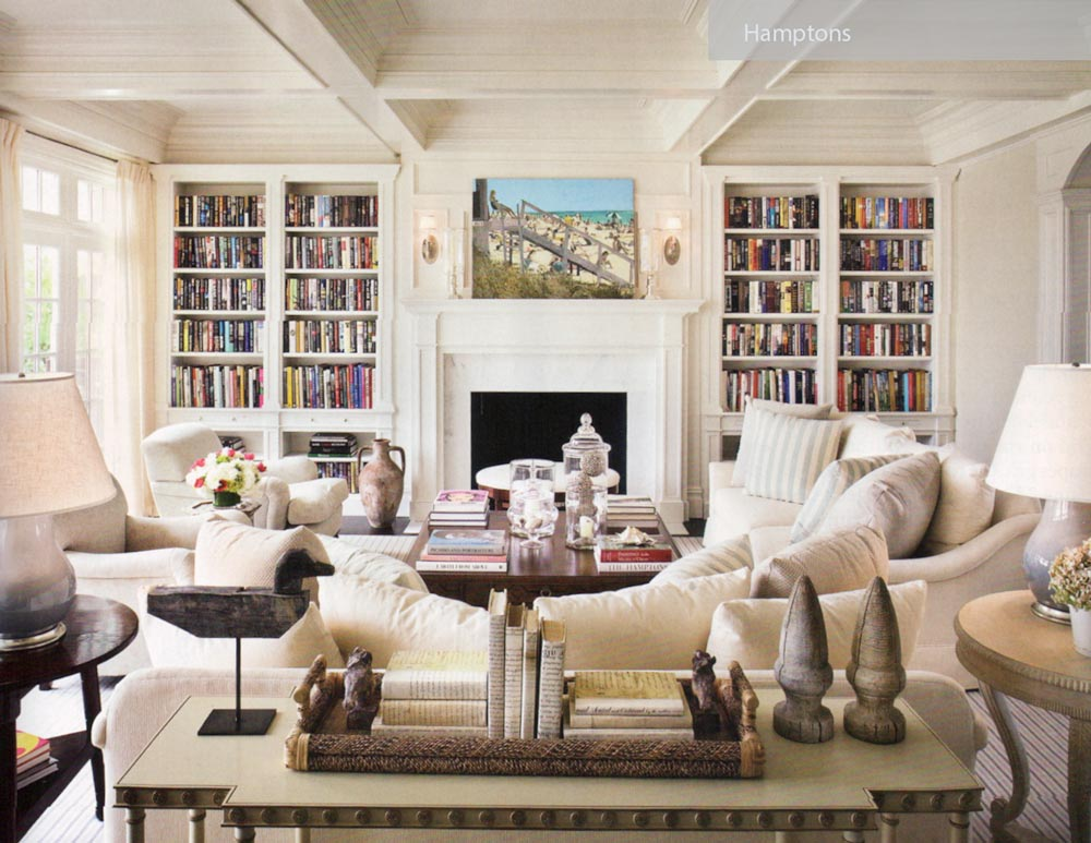 Hamptons - ۲۷ سبک طراحی داخلی