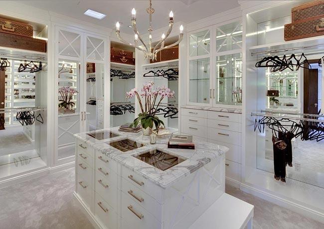 Luxurious Closet - کلوزت یا اتاق مخصوص لباس
