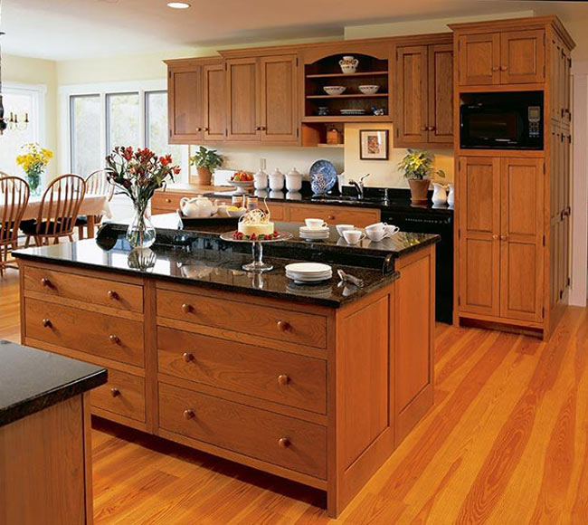 Traditional Kitchen Crownpoint - انواع درب کابینت