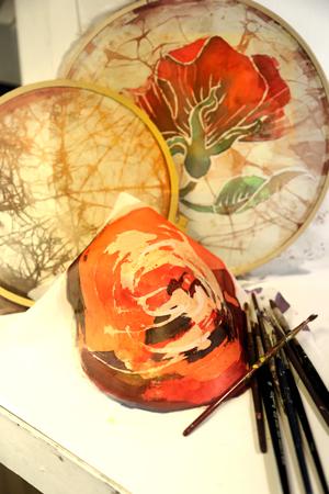 batik slider 9 - آموزش چاپ باتیک ، آموزش چاپ دستی
