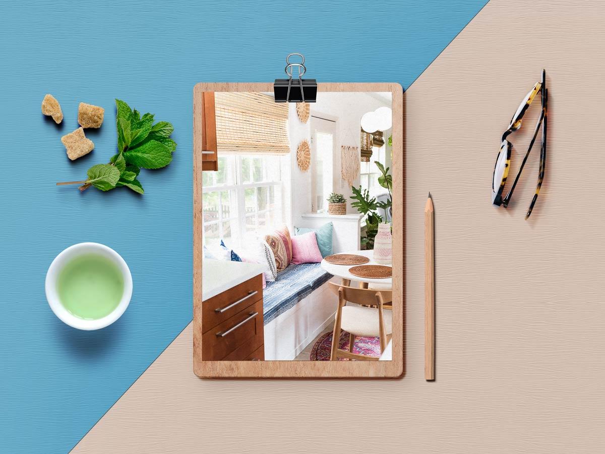 breakfast nook - نکته برای داشتن فضای صبحانه خوری کاملا دنج در خانه شما