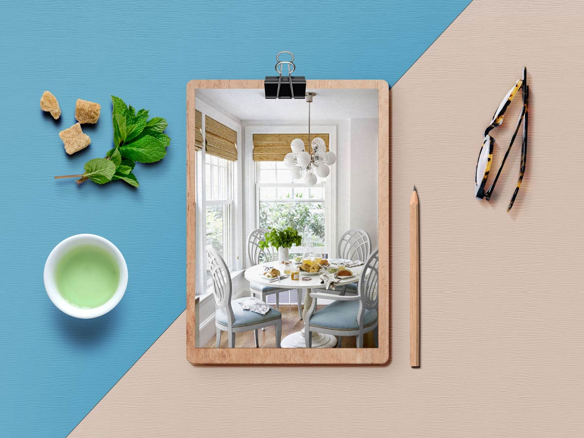 breakfast nook 2 - نکته برای داشتن فضای صبحانه خوری کاملا دنج در خانه شما