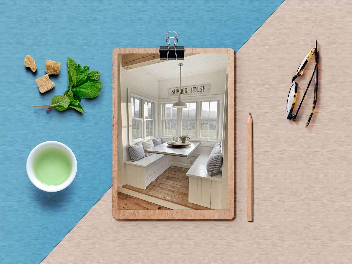 breakfast nook 3 - نکته برای داشتن فضای صبحانه خوری کاملا دنج در خانه شما